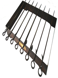 kadai 8 skewers and rack