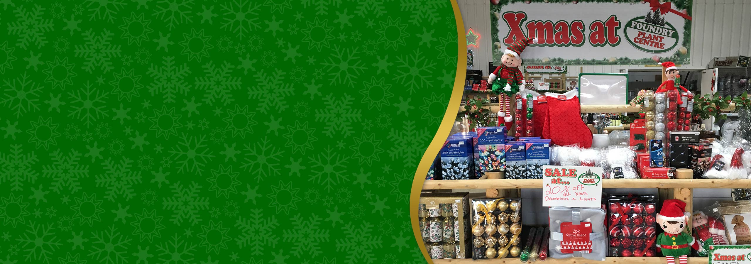 Our Christmas shop